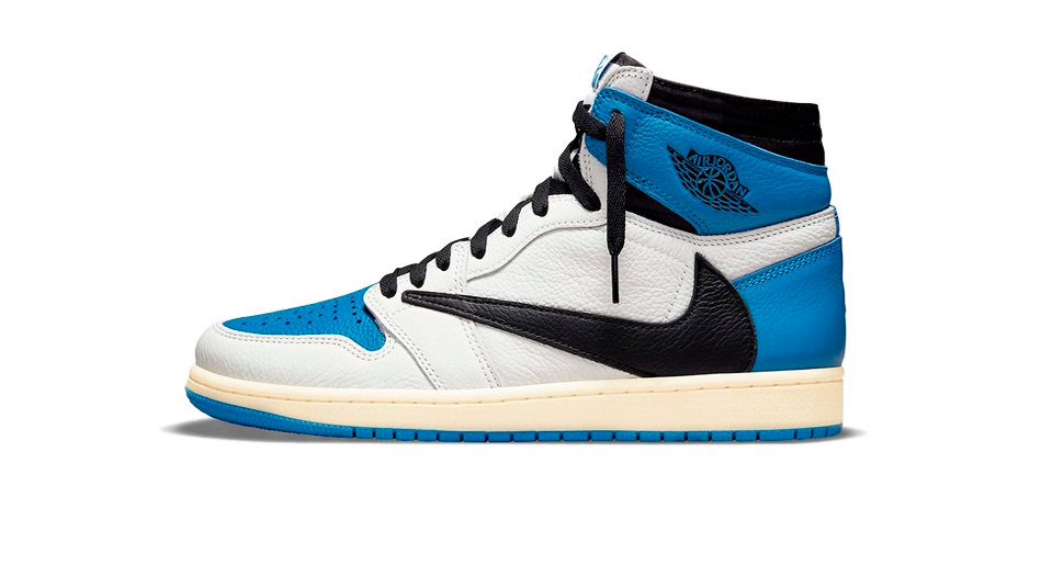 Fragment x Travis Scott x Air Jordan 1 and Travis Scott x Fragment Matching Outfit and AJ4 White Oreo Accessories Category