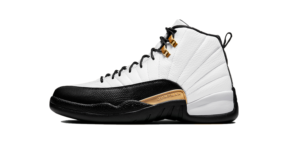 Air Jordan 12 Royalty And Pollen 1s Sneaker Matching Tees Outfit and AJ12 Taxi Suede Accessories Category
