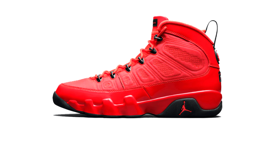 Air Jordan 9 Chile Red Sneaker Matching Chile Red 9s Shirts and Accessories Category Icon