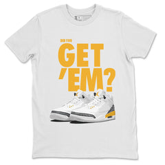 Air Jordan 3 Laser Orange Did You Get Em Sneaker Matching T Shirt