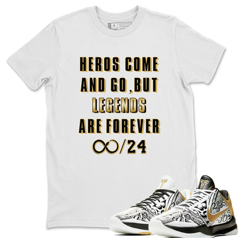 Nike Protro 5 Big Stage Sneaker Matching T Shirt Legends Are Forever T Shirt