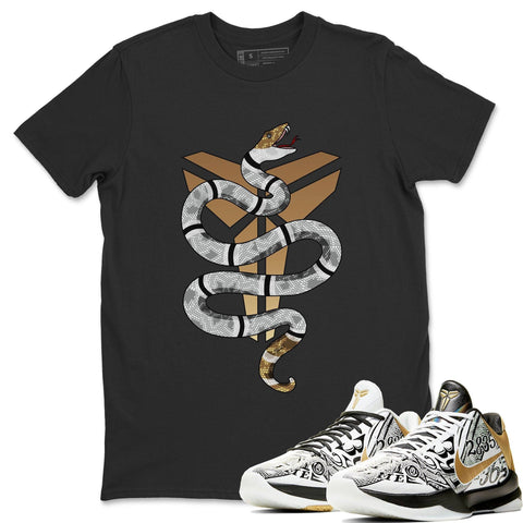 Nike Kobe 5 Protro Big Stage Matching Outfit and Tees Snake T Shirt Image