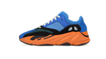 Yeezy Boost 700 Bright Blue Sneaker match shirt out fit and Yeezy Bright Blue Accessories Category Image