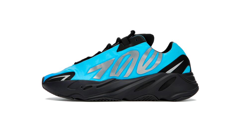 Adidas Yeezy 700 Boost Bright Cyan Sneaker Release Tees Outfit and Yeezy 700 Bright Cyan Accessories