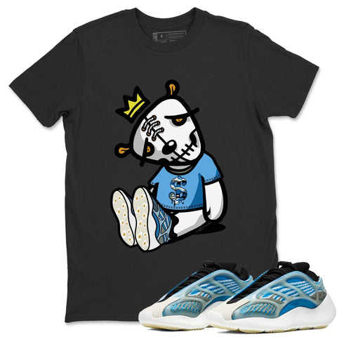 Adidas Yeezy 700 V3 Arzareth Sneaker Shirts And Sneaker Matching Outfits Dead Doll Black T-Shirt Image