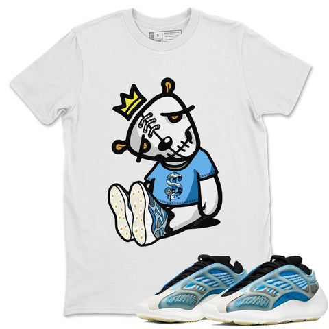 Adidas Yeezy 700 V3 Arzareth Sneaker Shirts And Sneaker Matching Outfits Dead Doll White T-Shirt Image