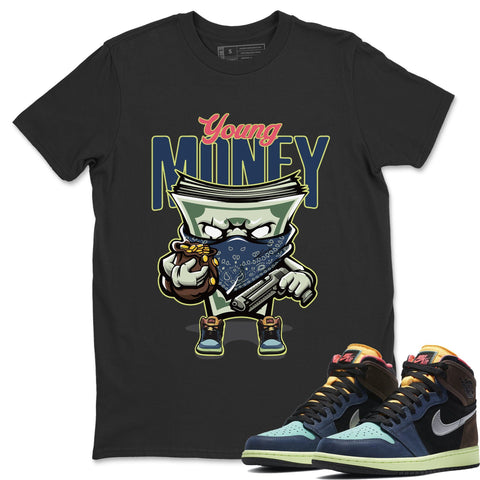 Young Money T-Shirt - Air Jordan 1 Bio Hack Air Jordan 1 Shirt Jordan 1 Bio Hack Black S