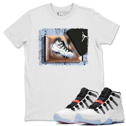 New Kicks T-Shirt - Air Jordan 11 Adapt Air Jordan 11 Adapt  Unisex Crew Neck T Shirt Adapt Apt 11s White Tee