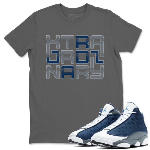 Extra Ordinary T-Shirt - Air Jordan 13 Flint Air Jordan 13 Shirt Jordan 13 Flint Cool Grey S