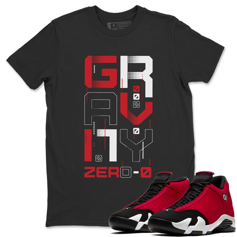 Zero Gravity T-Shirt - Air Jordan 14 Gym Red Air Jordan 14 Shirt Jordan 14 Gym Red Black S