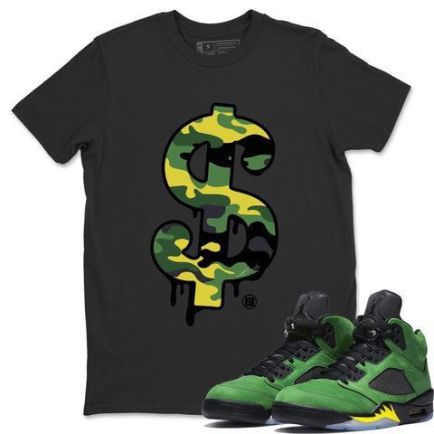 Air Jordan 5 Retro SE Oregon Ducks Sneaker Shirts And Sneaker Matching Outfits  Dead Dolls Black T-Shirt Image