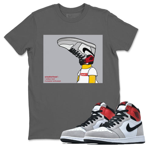 Sneakerhead T-Shirt - Air Jordan 1 Smoke Grey Air Jordan 1 Shirt Jordan 1 Smoke Grey Cool Grey S