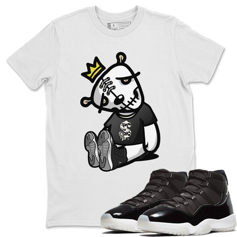 Dead Dolls T-Shirt - Air Jordan 11 Retro Jubilee 25th Anniversary Air Jordan 11 Unisex Crew Neck T Shirt Jordan 11 Retro Jubilee White Tee