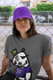 Air Jordan 12 Retro Dark Purple Concord Sneaker Unisex Shirts And Outfits Dead Dolls Cool Grey Short Sleeve Tees S 4