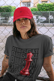 Queen T-Shirt - Air Jordan 12 Retro Reverse Flu Game Air Jordan 12 Red Black Unisex Crew Neck T Shirt Reverse Flu Game 12s Cool Grey Tee 4