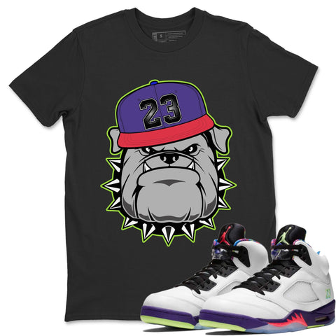 English Bulldog T-Shirt - Air Jordan Ghost Green Air Jordan 5 Shirt Jordan 5 Ghost Green Black S