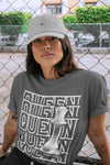 Air Jordan 1 High OG WMNS Silver Toe Queen Crew Neck T-Shirt Matching Unisex Outfits 1s Women's Silver Toe Image Cool Grey Short Sleeve Tees 4