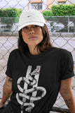 Air Jordan 1  High OG WMNS Silver Toe Snake Short Sleeve T-Shirt Matching Unisex Outfits AJ1 Women's Silver Toe Image Black Short Sleeve Tees 4