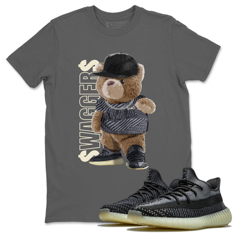 Adidas Yeezy 350 V2 Carbon Asriel Sneaker Shirts And Sneaker Matching Outfits Bear Swaggers Cool Grey T Shirt Image