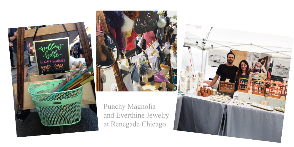 Punchy Magnolia and Everthine Jewelry