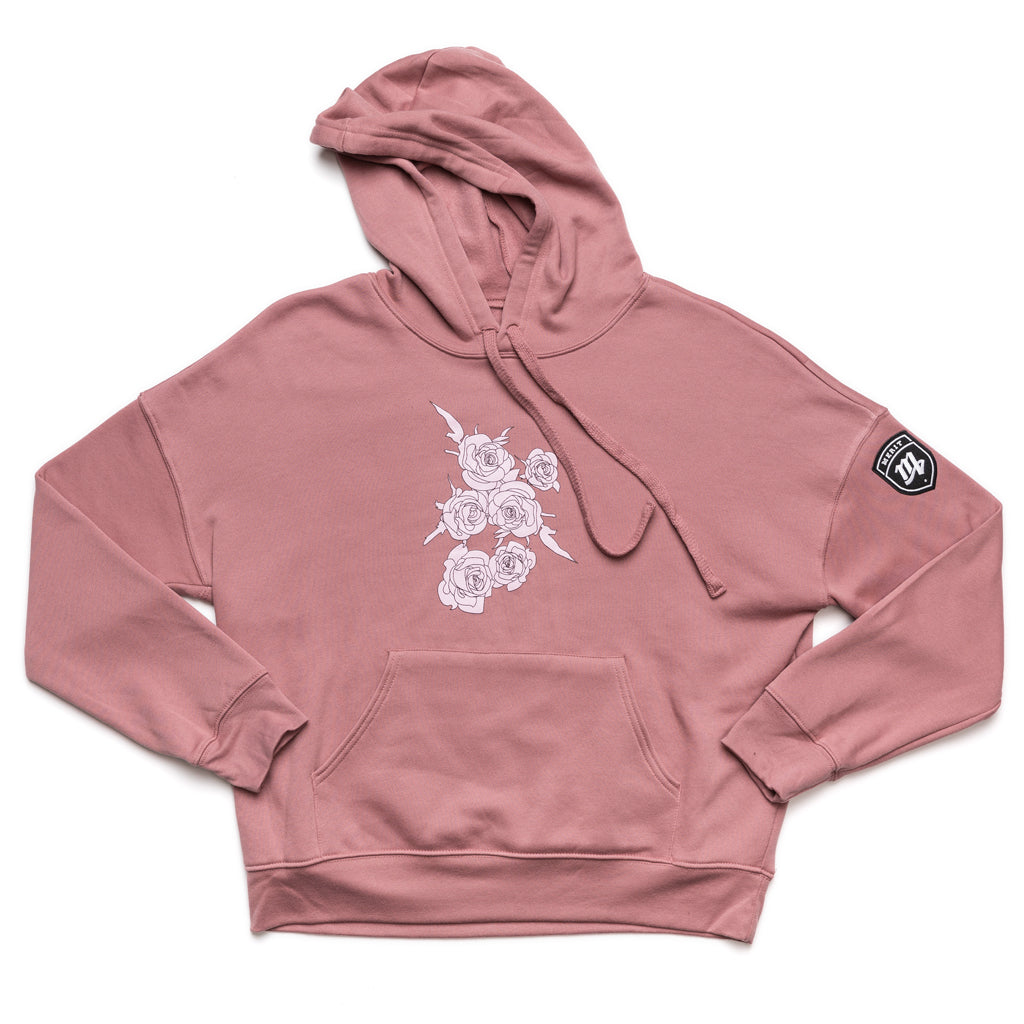 Worth the Consequences Hoodie - Rose (Unisex)