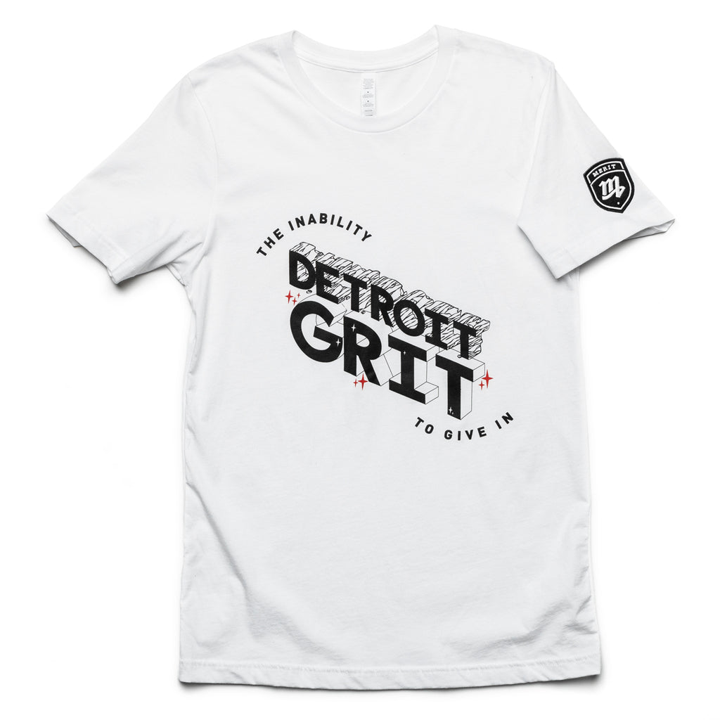 Detroit Grit - The Inability to Give In Tee