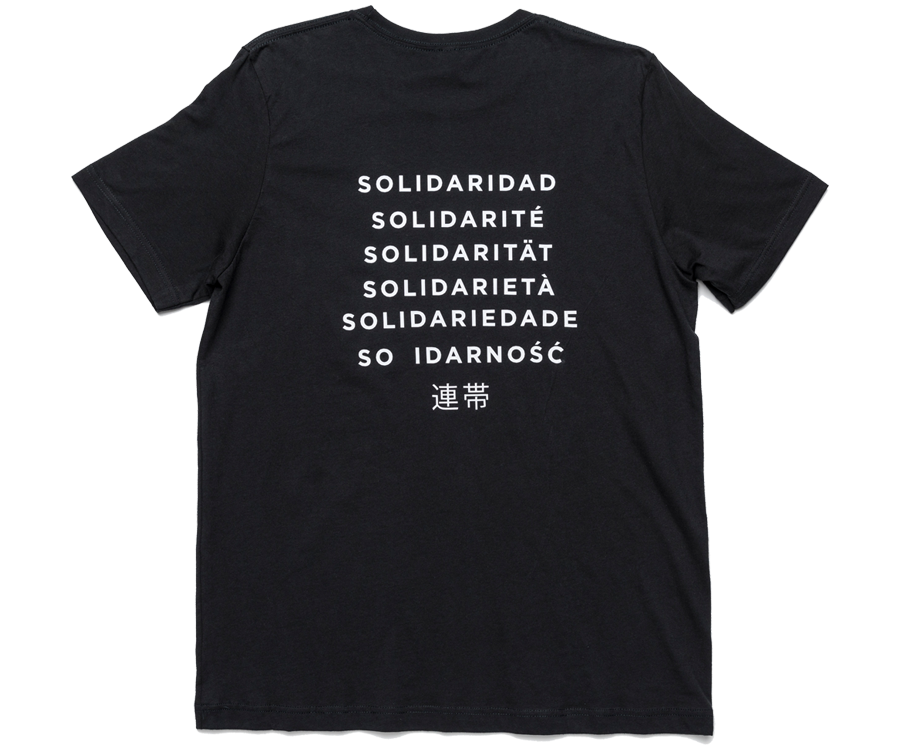 Double Whammy's Solidarity Tee
