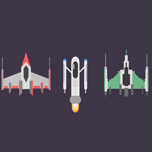 Create Flat Design Spaceships in Adobe Illustrator