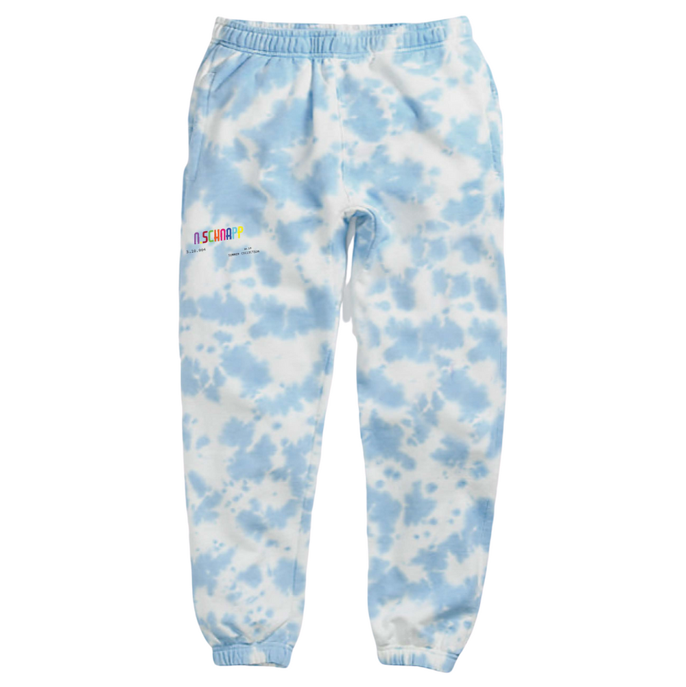 All Smiles Tie Dye Sweatpants // Noah Schnapp