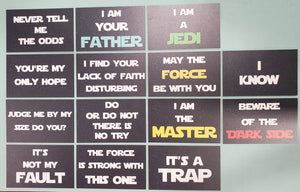 Star Wars Themed Signs