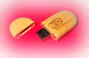 USB Thumb Drive Box with Thumb Drive