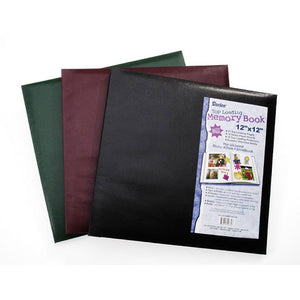 12x12 Post Bound Album - Black