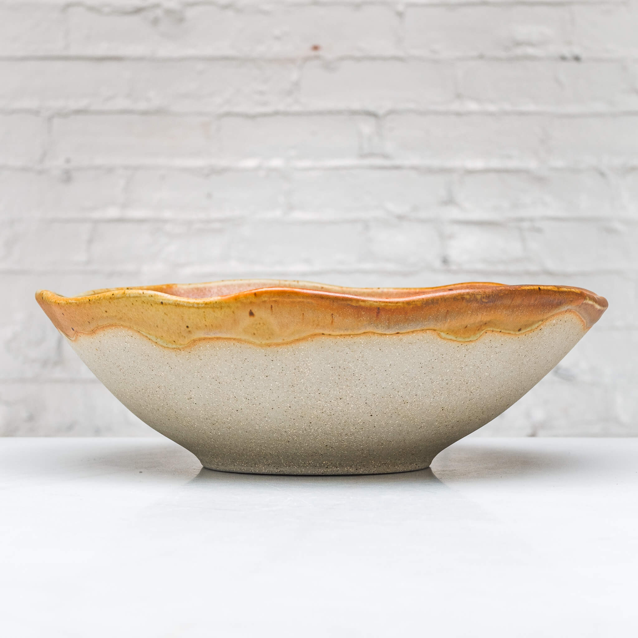 Oversized Stoneware Bowl - Connor McGinn Studios