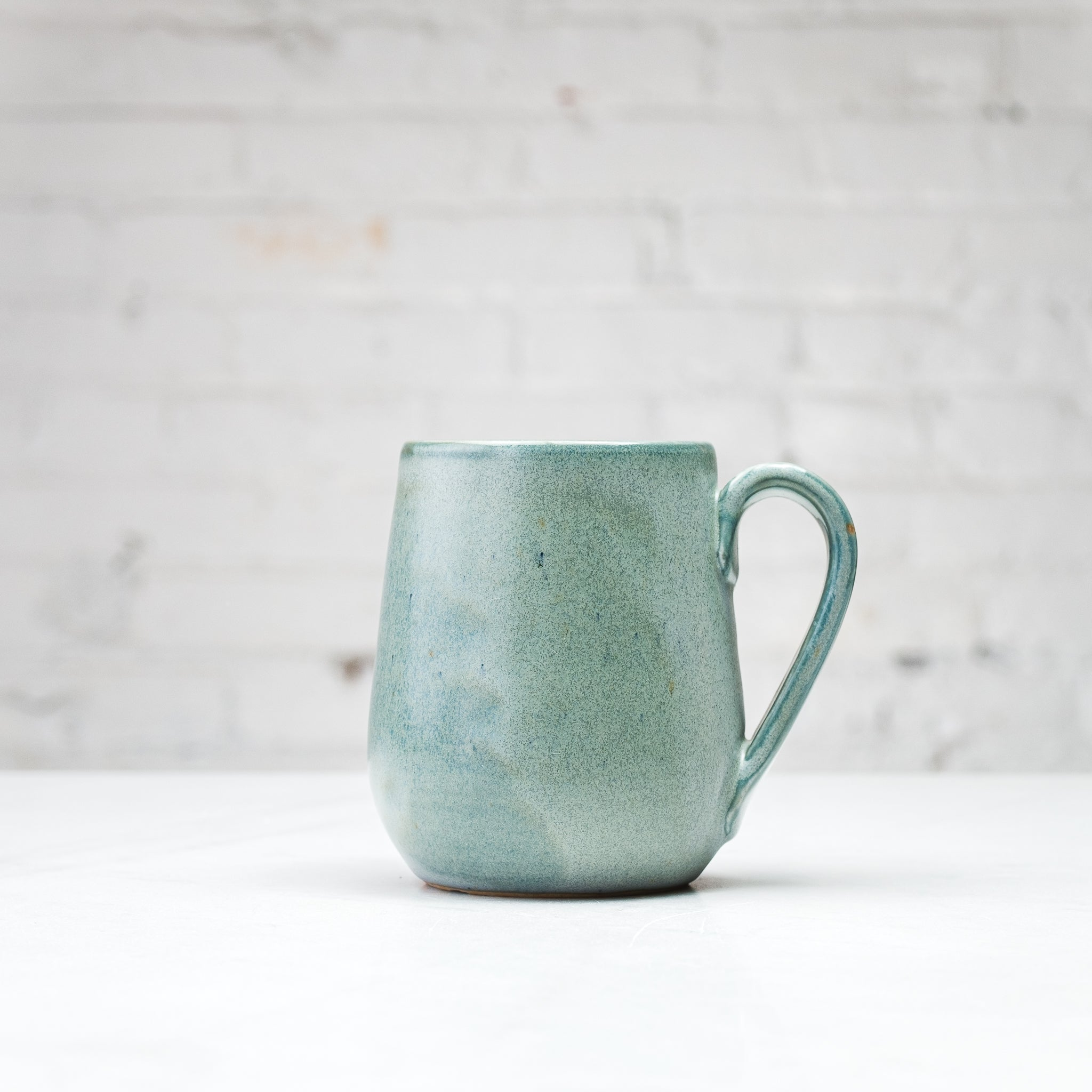 Tapered Porcelain Mug