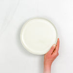Porcelain Lunch Plate - Connor McGinn Studios