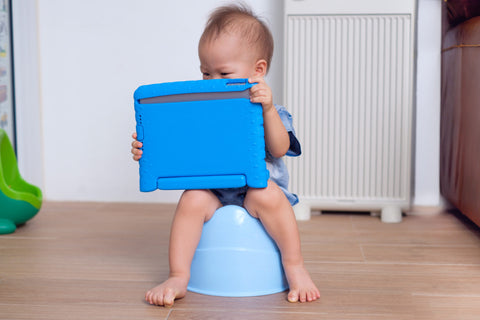 using elimination communication during baby potty training