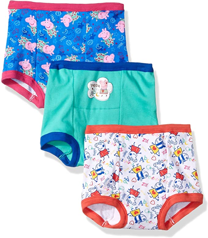 Peppa Pig Girls Potty Training Pant Multipack Baby and Toddler Training Underwear