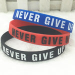 """Road To The Dream"" Soft Silicone Motivational Bracelet"