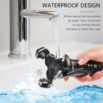 Mens Waterproof Electric Shaver