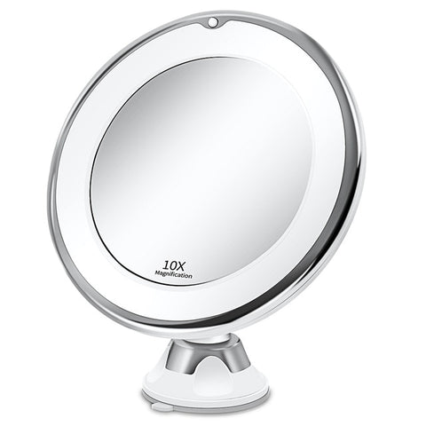 LED Makeup Vanity Mirror (10X Lights)
