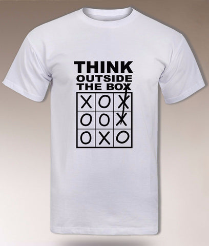 """Think Outside The Box"" Entrepreneur T-Shirt"