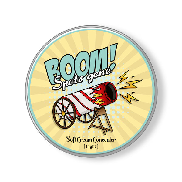 BOOM SPOTS GONE Soft Cream Concealer