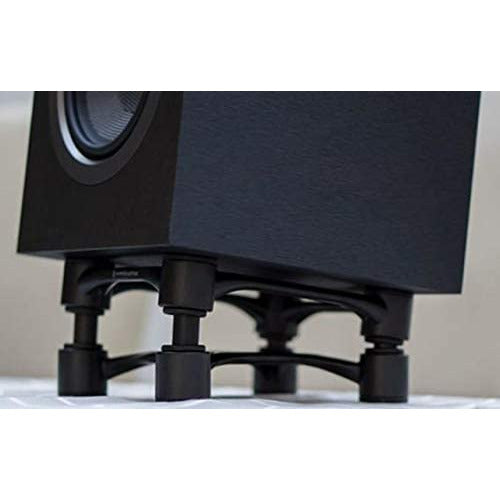 IsoAcoustics Aperta Isolation Stands Black