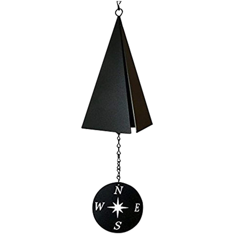 North Country Boothbay Harbor 3-Tone Wind Bell with Compass Rose Wind Catcher