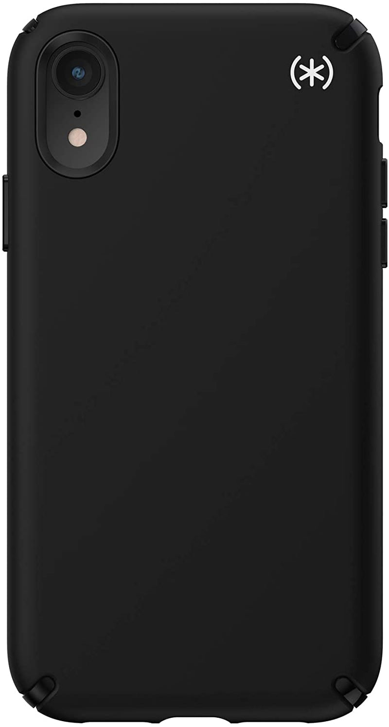 Speck Products Presidio2 PRO iPhone XR Case, Black/Black/White