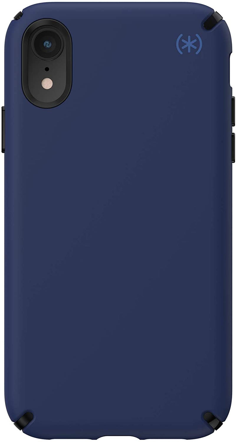 Speck Presidio2 PRO Case, for iPhone XR - Coastal Blue/Black/Storm Grey