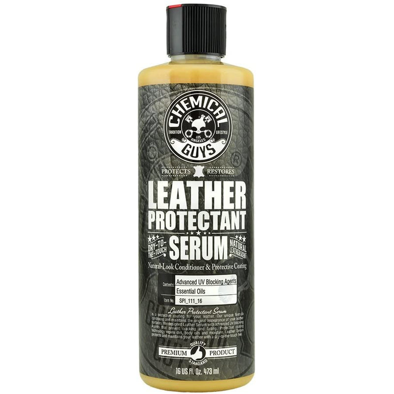 Chemical Guys SPI_111_16 Leather Protectant - Dry-to-The-Touch Serum (16 oz)