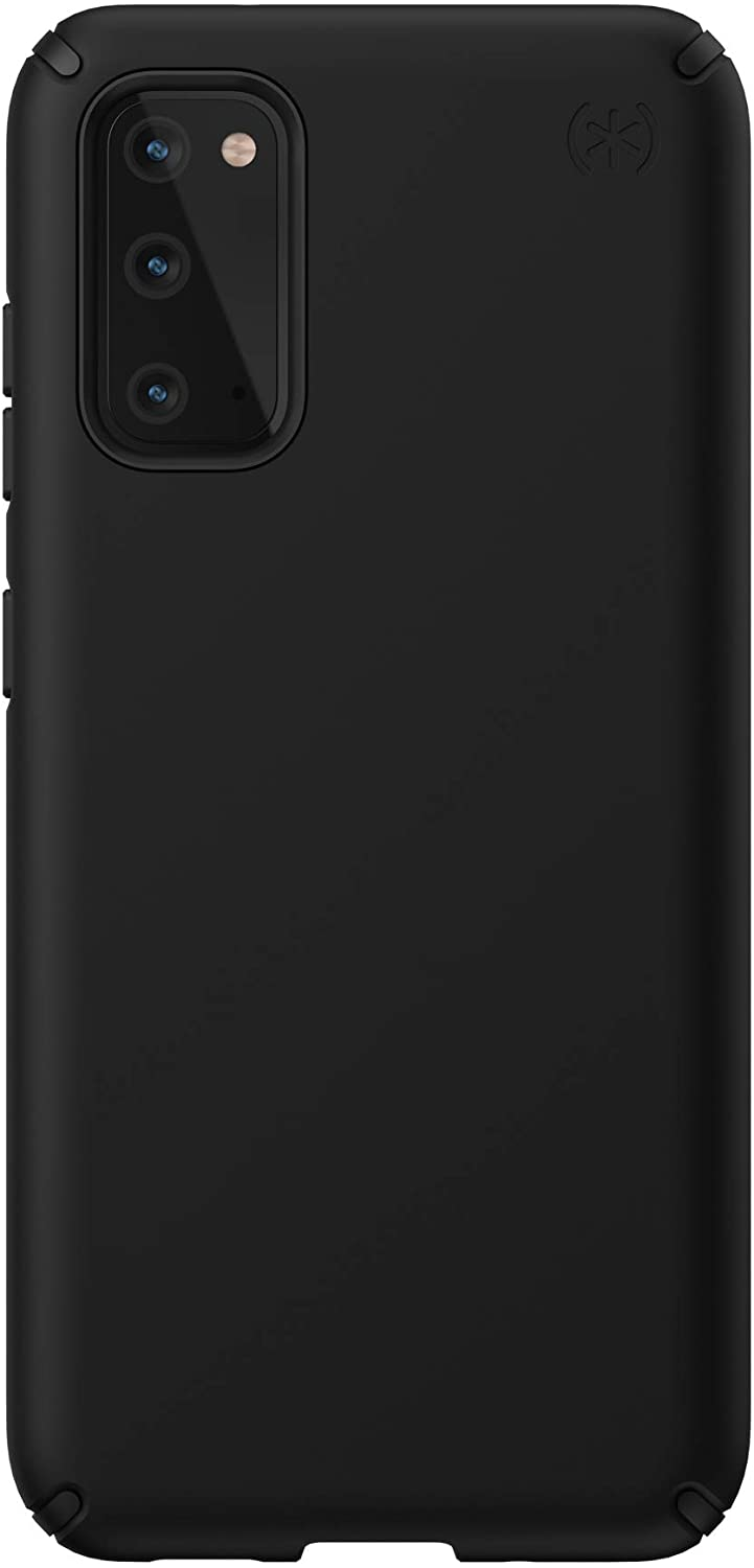 Speck Products Presidio PRO Samsung Galaxy S20 Case, Black/Black