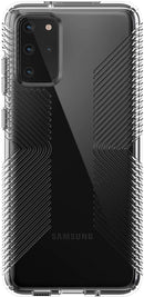 Speck Presidio Perfect Clear with Grip for Samsung Galaxy S20+ Case