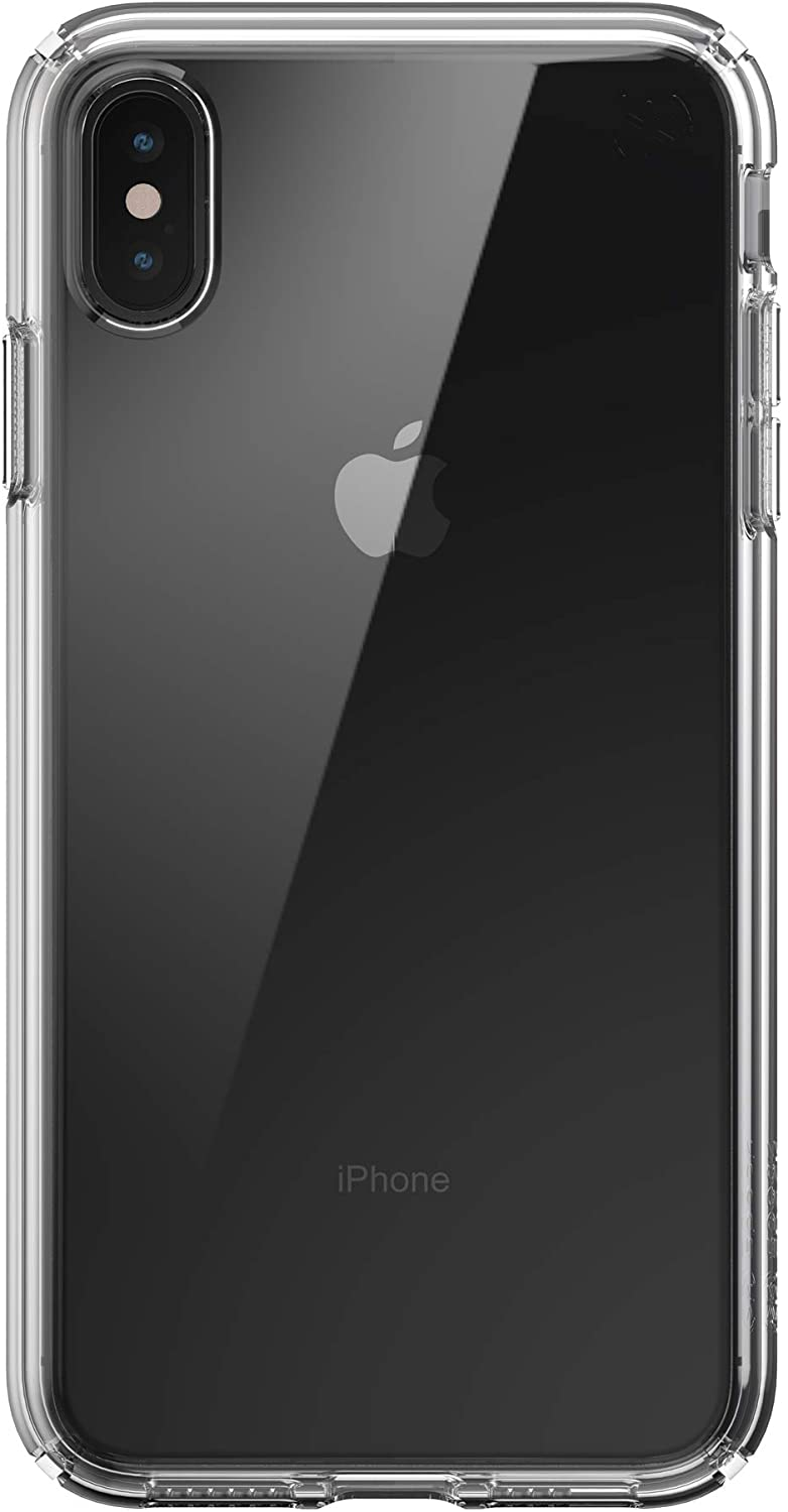 Speck Products Presidio Perfect-Clear iPhone Xs MAX Case, Clear/Clear